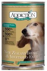 Addiction Canned Dog Food New Zealand Brushtail & Vegetables Entree