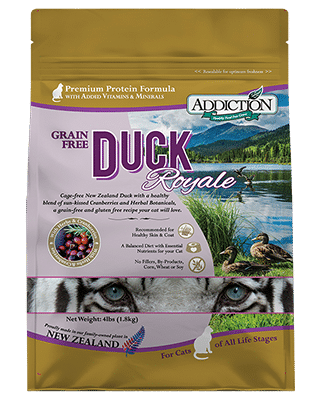 Addiction Dry Cat Food Duck Royale