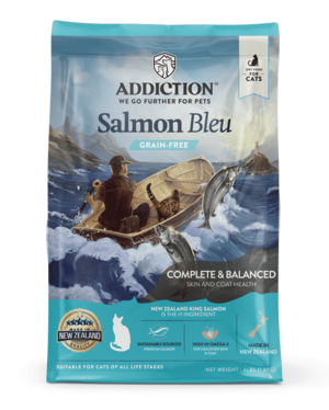 Addiction Dry Cat Food Salmon Bleu