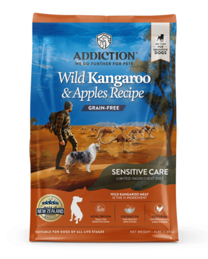 Addiction Dry Dog Food Wild Kangaroo & Apples