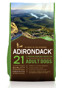Adirondack Classic 21% Protein Everyday Recipe For Adult Dogs