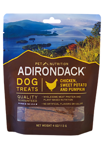 Adirondack Classic Chicken, Sweet Potato And Pumpkin Dog Treats