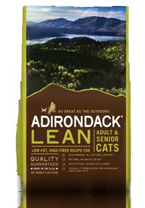 Adirondack Classic Lean Low-Fat, High-Fiber Recipe For Adult & Senior Cats