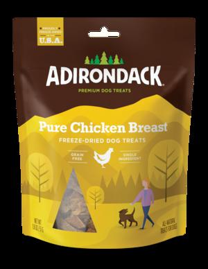 Adirondack Freeze-Dried Dog Treats Pure Chicken Breast