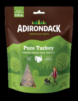 Adirondack Freeze-Dried Dog Treats Pure Turkey
