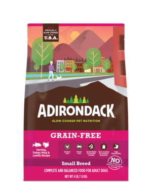 Adirondack Grain-Free Herring, Turkey Meal & Lentils Recipe For Small Breed Dogs