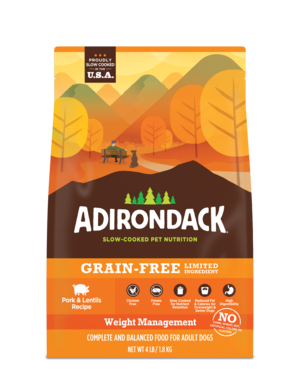 Adirondack Grain-Free Limited Ingredient Pork & Lentils Recipe For Dogs (Weight Management)