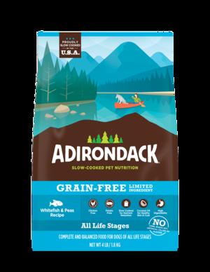Adirondack Grain-Free Limited Ingredient Whitefish & Peas Recipe For Dogs