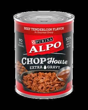 Alpo Chop House Beef Tenderloin Flavor In Gourmet Gravy