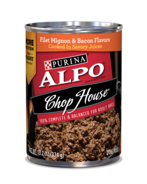 Alpo Chop House Filet Mignon & Bacon Flavors
