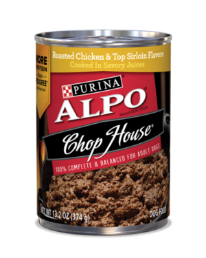Alpo Chop House Roasted Chicken & Top Sirloin Flavors