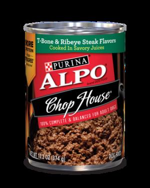 Alpo Chop House T-Bone & Ribeye Steak Flavor