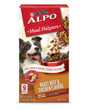 Alpo Meal Helpers Roast Beef and Chicken Flavors