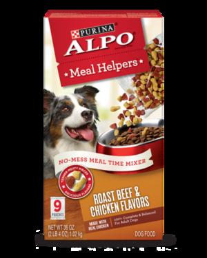 Alpo Meal Helpers Roast Beef & Chicken Flavors