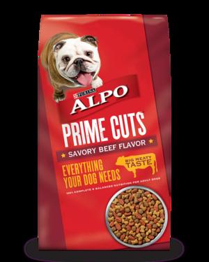 Alpo Prime Cuts Savory Beef Flavor