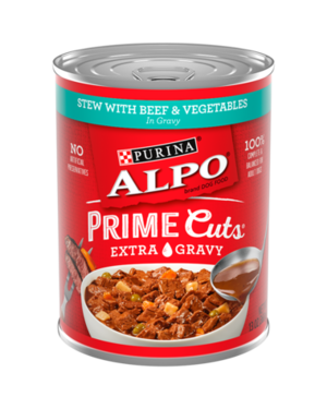 Alpo Prime Cuts Stew With Beef & Vegetables In Gravy