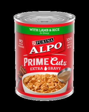 Alpo Prime Cuts With Lamb & Rice In Gravy