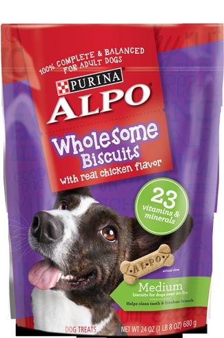 Alpo Wholesome Biscuits Medium