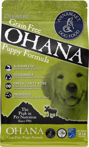 Annamaet Dry Dog Food Grain Free Ohana Puppy Formula