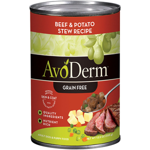 AvoDerm Grain Free Stew Beef & Potato Stew Recipe
