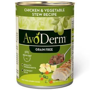 AvoDerm Grain Free Stew Chicken & Vegetable Stew Recipe