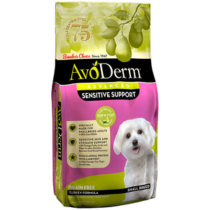 AvoDerm Revolving Menu Turkey Recipe For Small Breed Dogs