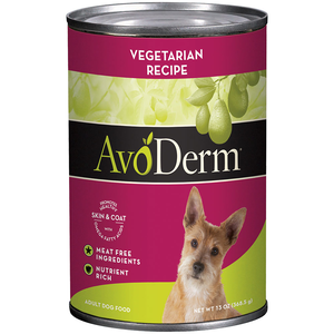 AvoDerm Adult Dog Food Vegetarian Formula