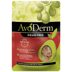 AvoDerm All Life Stages Cat Food Chicken & Duck Recipe In Gravy