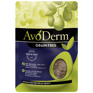 AvoDerm All Life Stages Cat Food Ocean Fish Recipe In Gravy