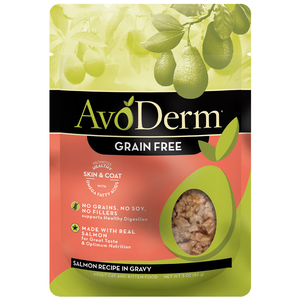 AvoDerm All Life Stages Cat Food Salmon Recipe In Gravy