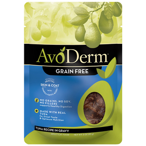 AvoDerm All Life Stages Cat Food Tuna Recipe In Gravy