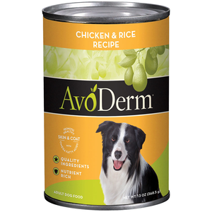 AvoDerm All Life Stages Dog Food Chicken & Rice Formula
