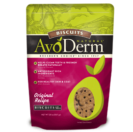 AvoDerm Biscuits Dog Treats Original Recipe Biscuits