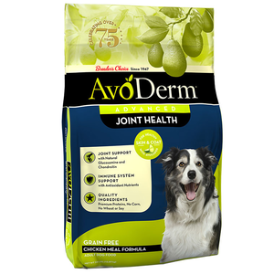 AvoDerm Joint Health Chicken Meal Formula For Adult Dogs
