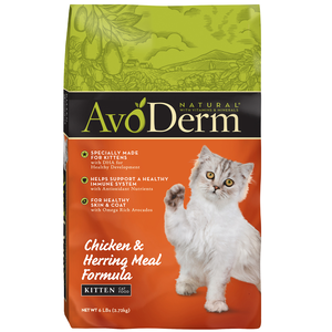 AvoDerm Kitten Food Chicken & Herring Meal Formula
