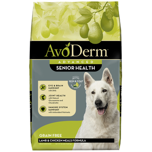 AvoDerm Senior Health+ Lamb Meal Formula