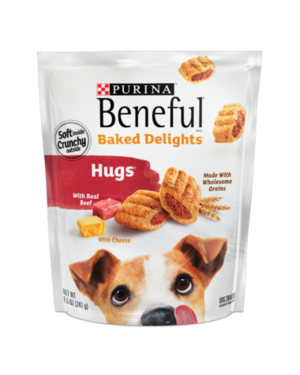 Beneful Baked Delights Hugs With Real Beef