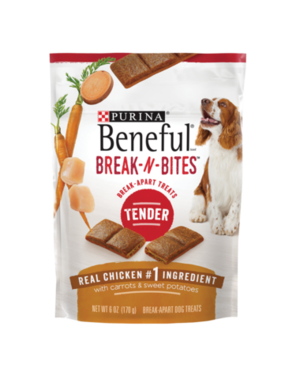Beneful Break-N-Bites Tender With Real Chicken, Carrots & Sweet Potatoes
