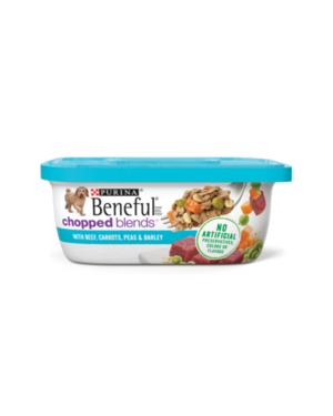 Beneful Chopped Blends With Beef, Carrots, Peas & Barley