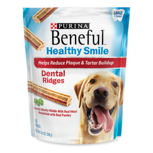 Beneful Healthy Smile Dental Ridges Large