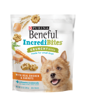 Beneful IncrediBites Crunchy Minis With Real Chicken & Carrots