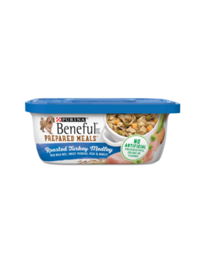 Beneful Prepared Meals Roasted Turkey Medley