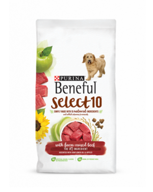 Beneful Select 10 With Farm-Raised Beef