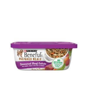 Beneful Prepared Meals Simmered Beef Entree