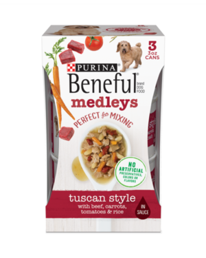 Beneful Medleys Tuscan Style With Beef, Carrots, Rice & Spinach