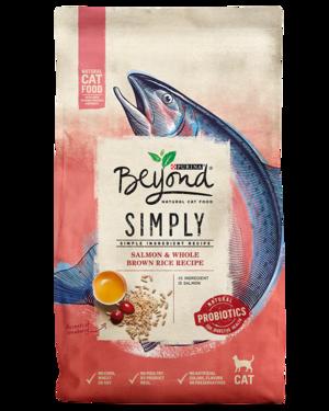 Purina Beyond Simply Salmon & Whole Brown Rice Recipe