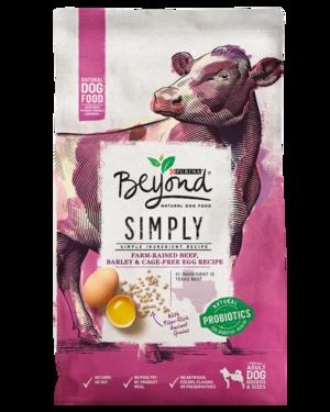 Purina Beyond Grain Free Beef & Egg Recipe