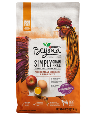 Purina Beyond Grain Free White Meat Chicken & Egg Recipe
