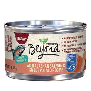 Purina Beyond In Gravy Grain Free Salmon & Sweet Potato Recipe