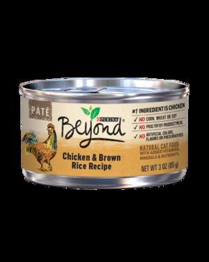 Purina Beyond Paté Chicken & Brown Rice Recipe